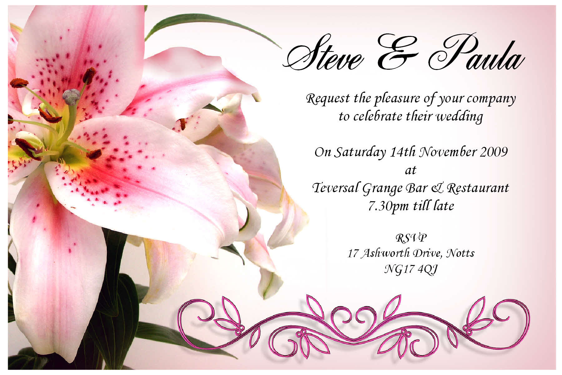 Engagement Invitations Card as best invitations example