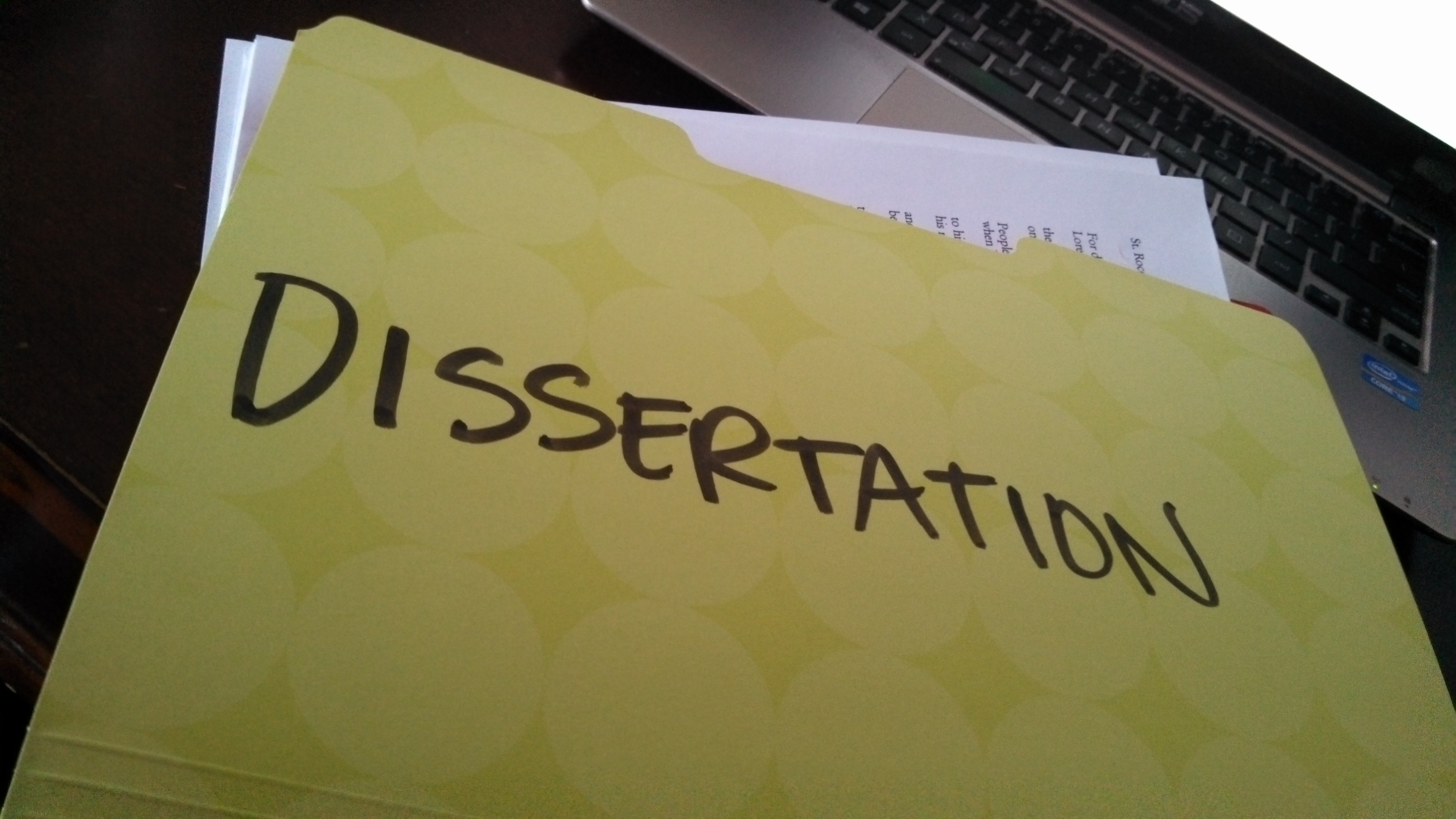 Dissertations and theses