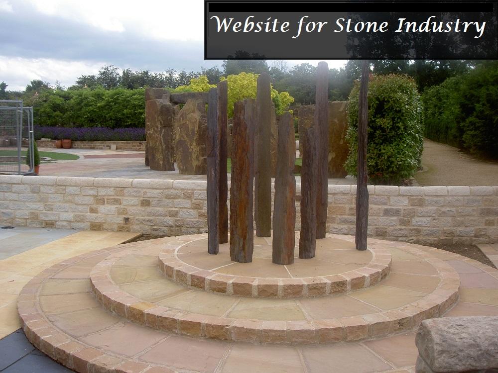 Website development for stone industry