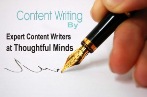 expert content writers by Thoughtful Minds