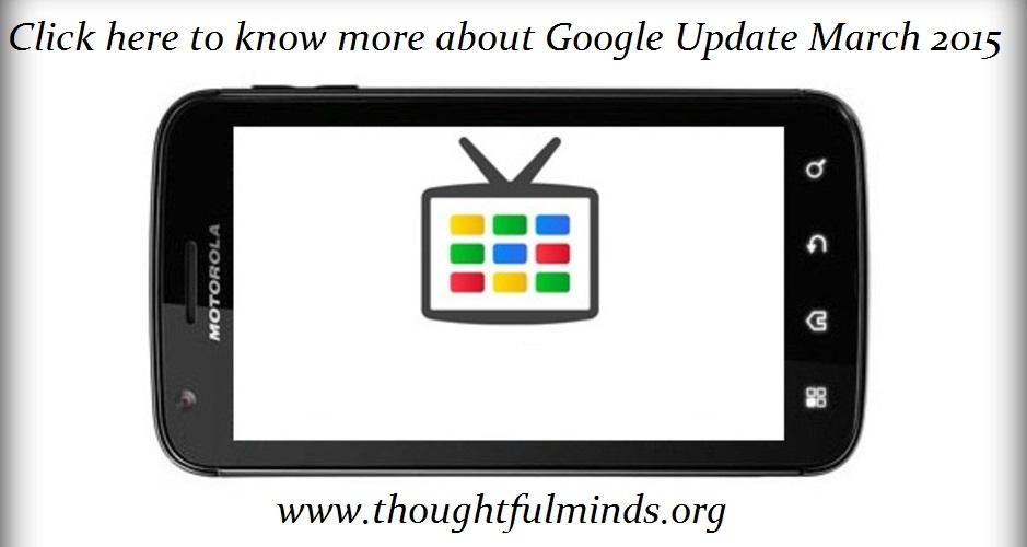 Google Update 2015 Video
