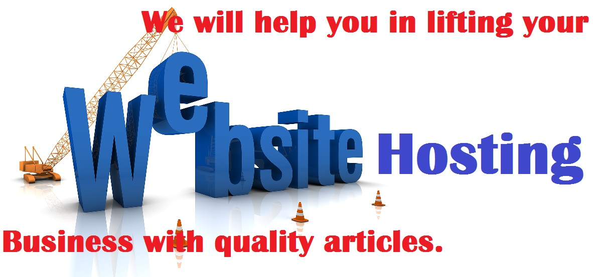 Website hosting articles
