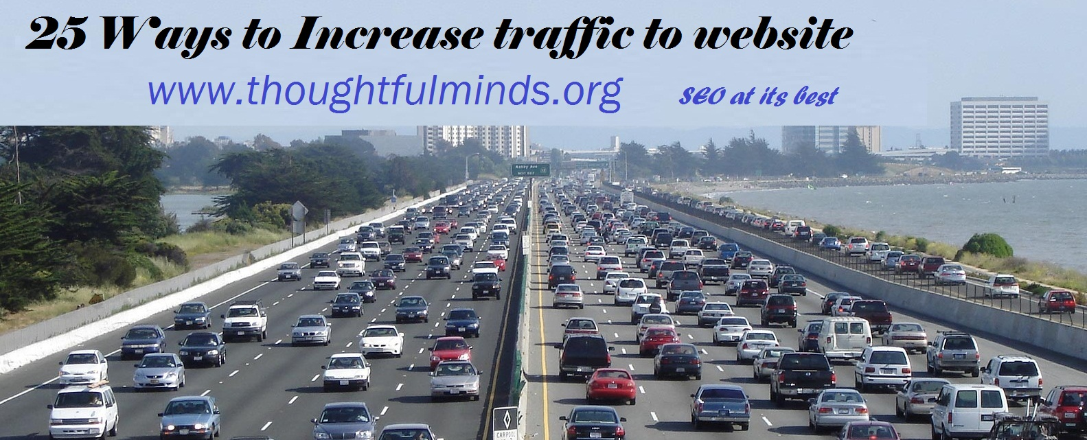 how to increase traffic to website