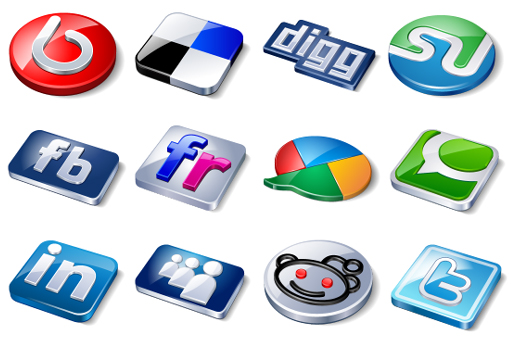 Social Media icons- Thoughtful Minds