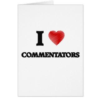 7. Greeting Commentators