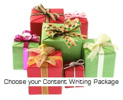 Content writing packages