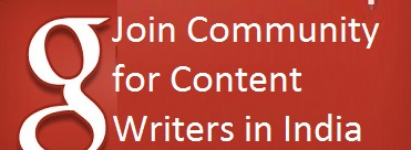 Community for Contents Writers in India