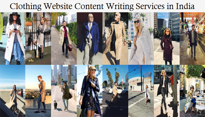 clothing website content writing services in India-Thoughtful Minds