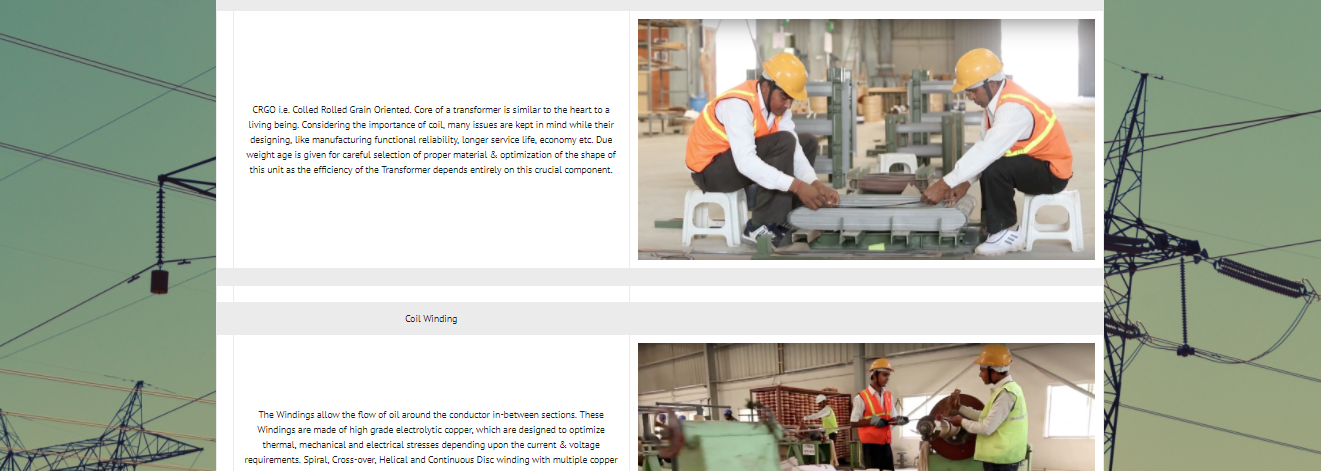 RP-Transformer industry website development-production process-Thoughtfulminds