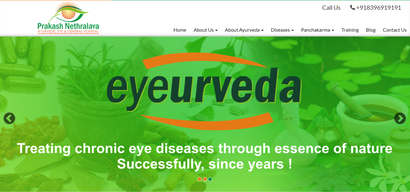 Ayurprakash-website development