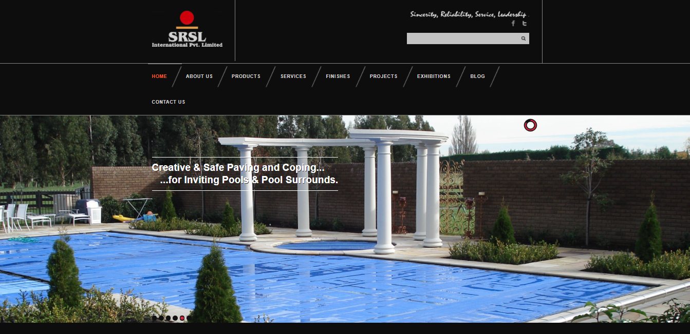 SRSL-Stone website development-Thoughtfulminds