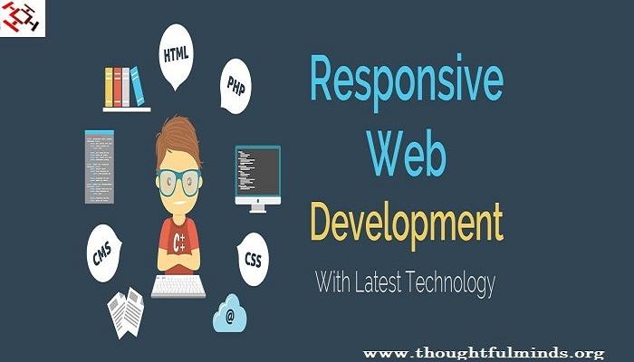 responsive website development-Thoughtfulminds