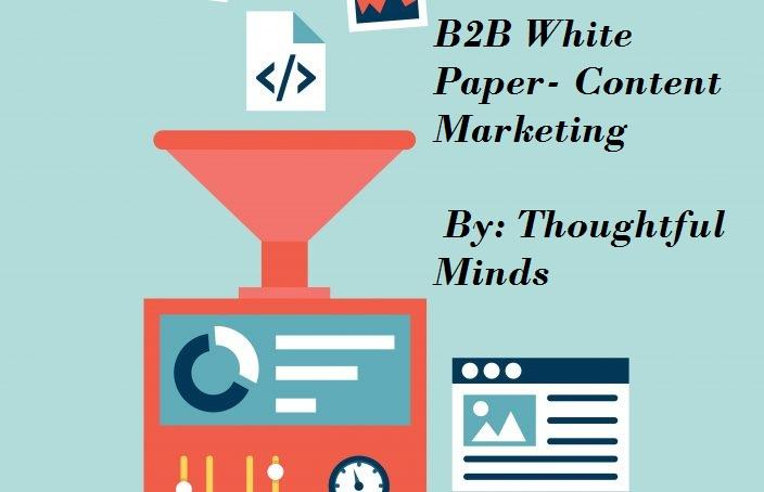 B2B white paper- Content marketing