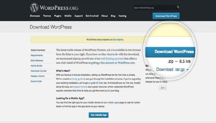 install-wordpress-ThoughtfulMinds