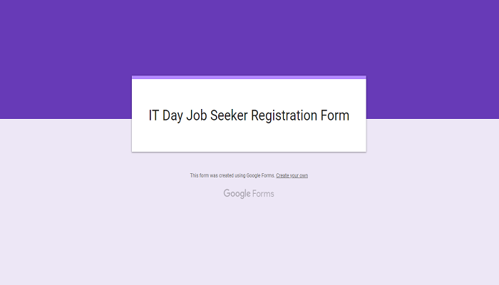 job fair registration form-ThoughtfulMinds