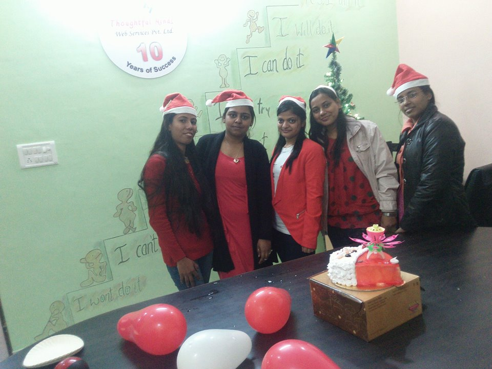 Christmas Celebration at Thoughtful Minds