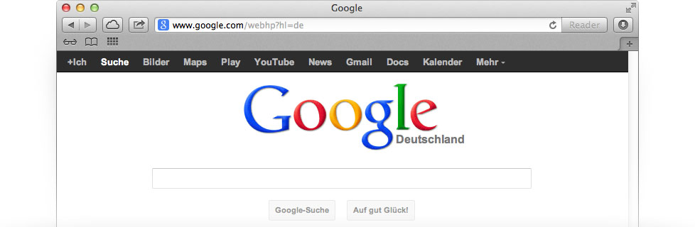 Google.de promotion by Thoughtfulminds