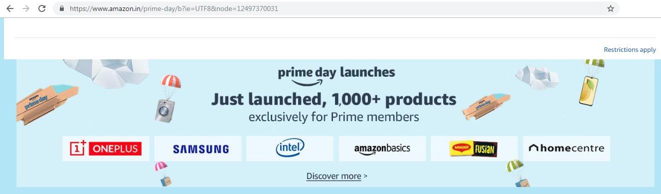 The prime day - Amazon