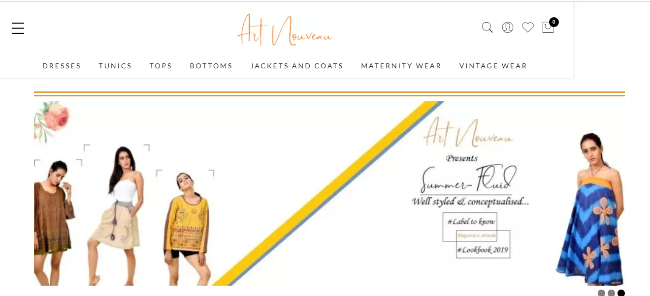 ecommerce clothing website development