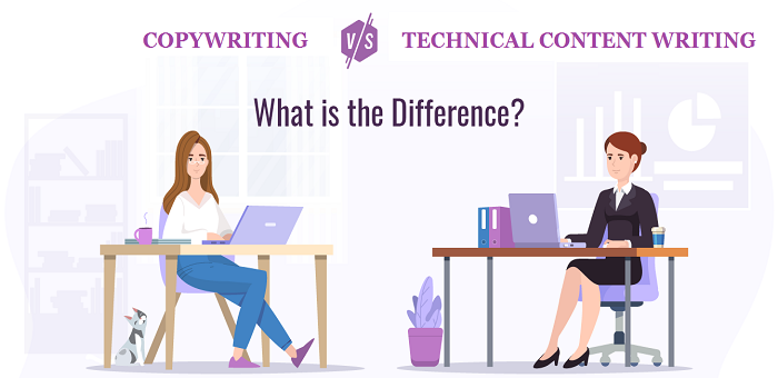 Technical Content Writing vs Copywriting