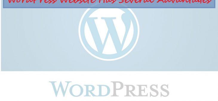 Advantages Of Having A WordPress Website In The World Of Digital Marketing