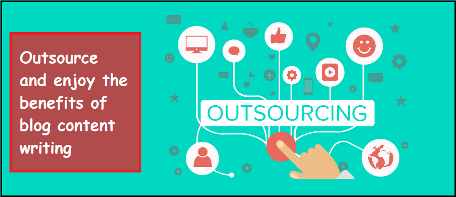 Benefits Of Outsourcing Blog Content Writing - Header - ThoughtfulMinds