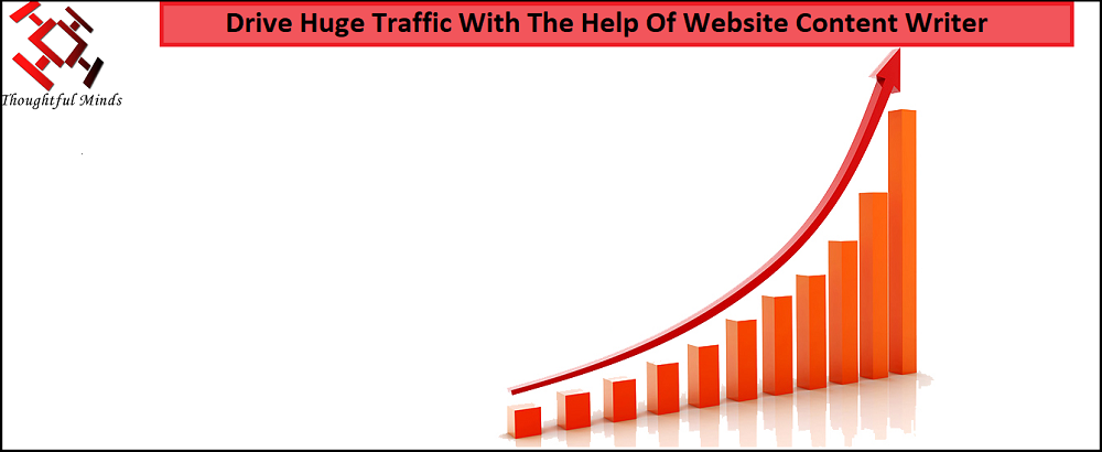 Hire A Website Content Writer And Drive Huge Traffic - Header - ThoughtfulMinds