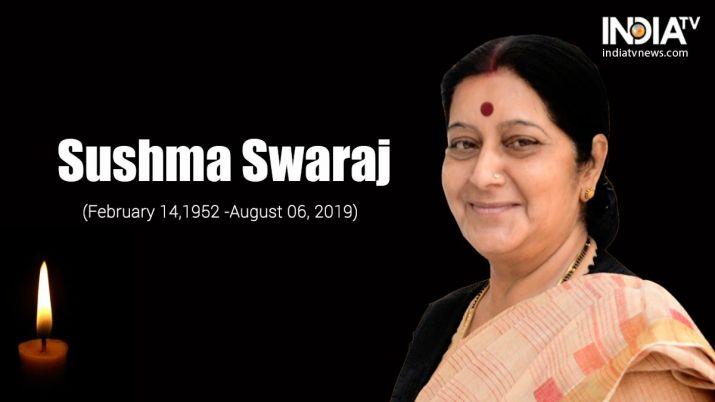 Poem on Sushma Swaraj by Swadesh Rohilla