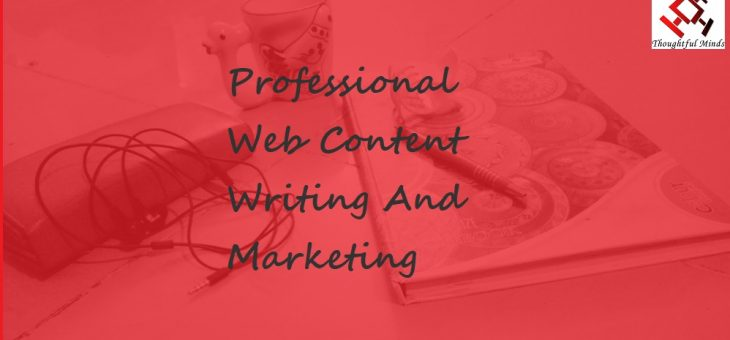Professional Web Content Writing And Marketing