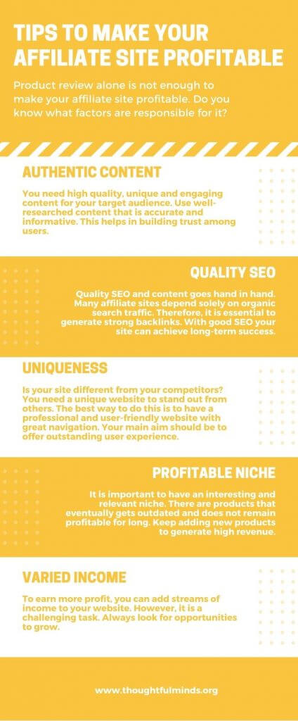 Make-Your-Affiliate-Site-Profitable-Infographic-ThoughtfulMinds