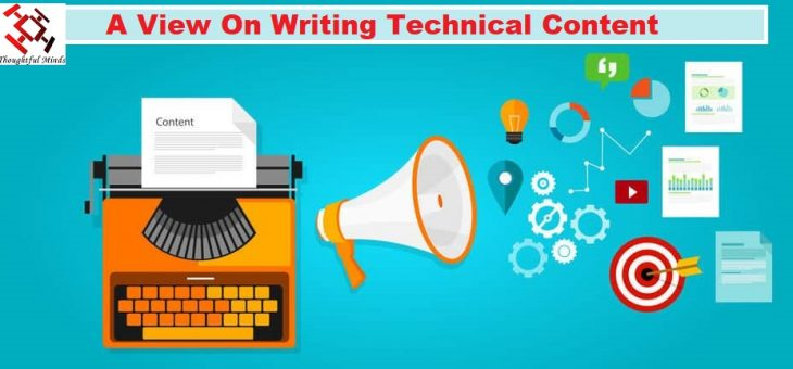 A View On Writing Technical Content