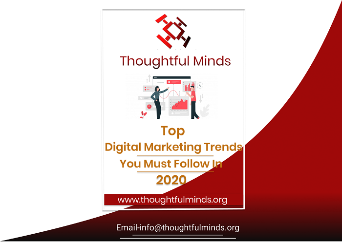 Digital Marketing Trends 2020 - ThoughtfulMinds