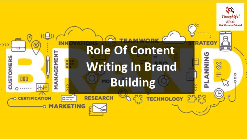 Role Of Content Writing In Brand Building - ThoughtfulMinds