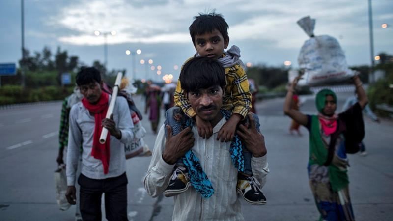 immigrants amid Covid19 in India