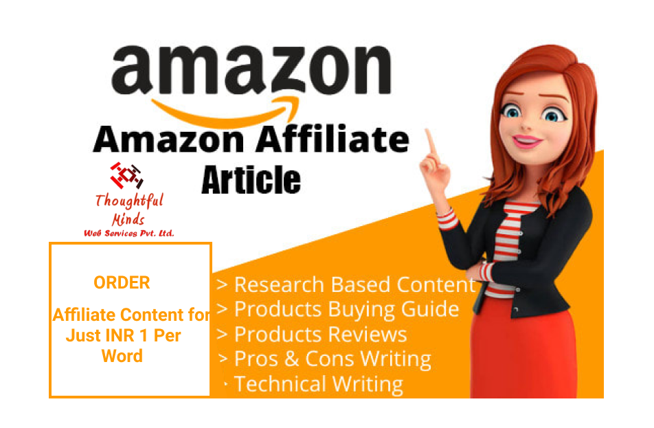 AFFILIATE ARTICLES at CHEAP PRICE
