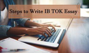 IB TOK Essay Help