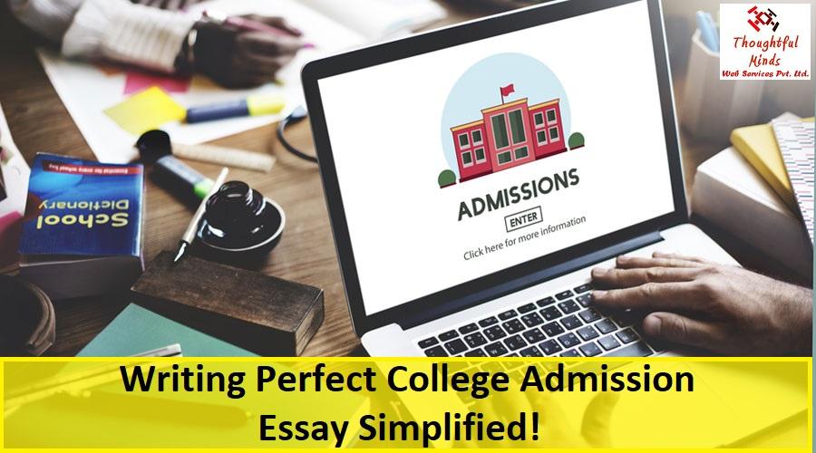 College Admission Essay Help