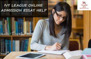 Ivy League Admission Essay Help
