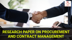 Procurement & Contract Management - ThoughtfulMinds