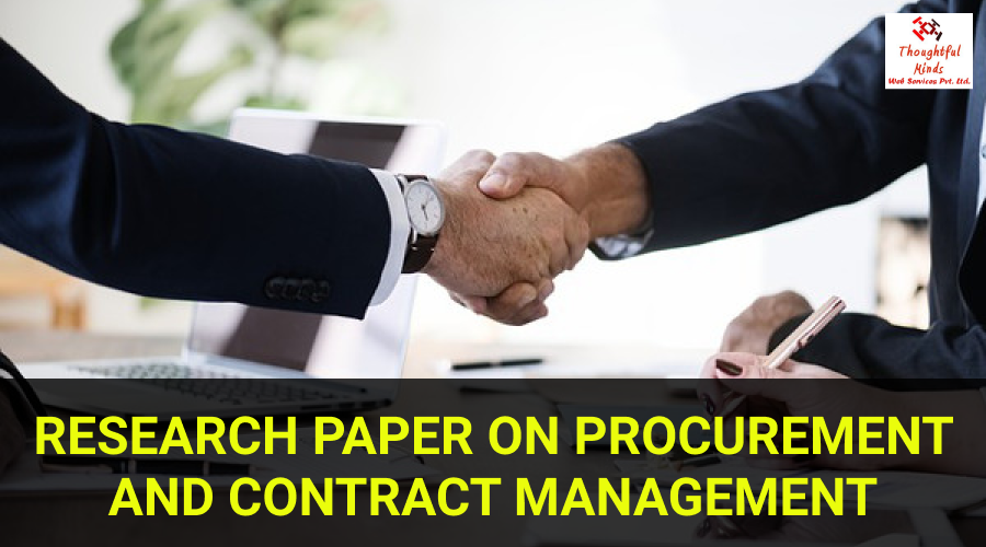 Procurement & Contract Management - ThoughtfulMinds