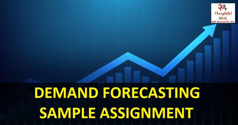 Demand Forecasting Assignment