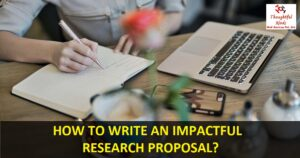 Online Research Proposal Help