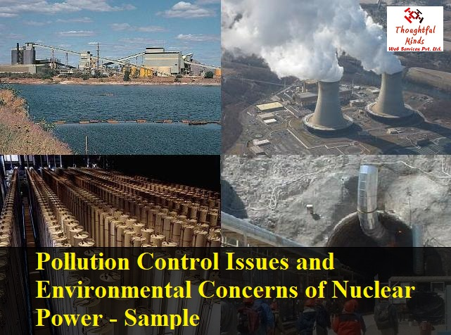 Pollution Control Issues and Environmental Concerns of Nuclear Power