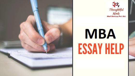 Online MBA Essay Help