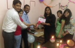 Congratulations to Prachi Mam on her Birthday