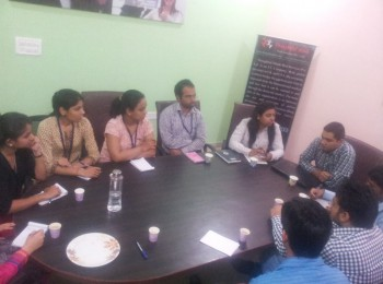 Meeting at GD Room - Thoughtful Minds Web Services Pvt. Ltd