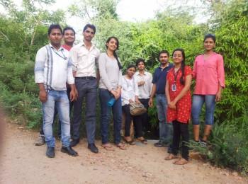 Thoughtful Minds Team at Smriti Van, Jaipur